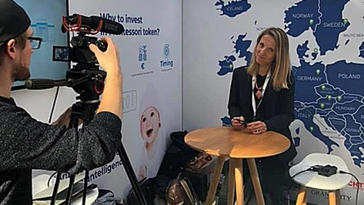 Interview HeidiDom Montessori – Paris Blockchain Week Summit- Avril 2019
