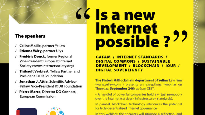 WEBINAR – Is a new Internet possible ? by Yellaw!